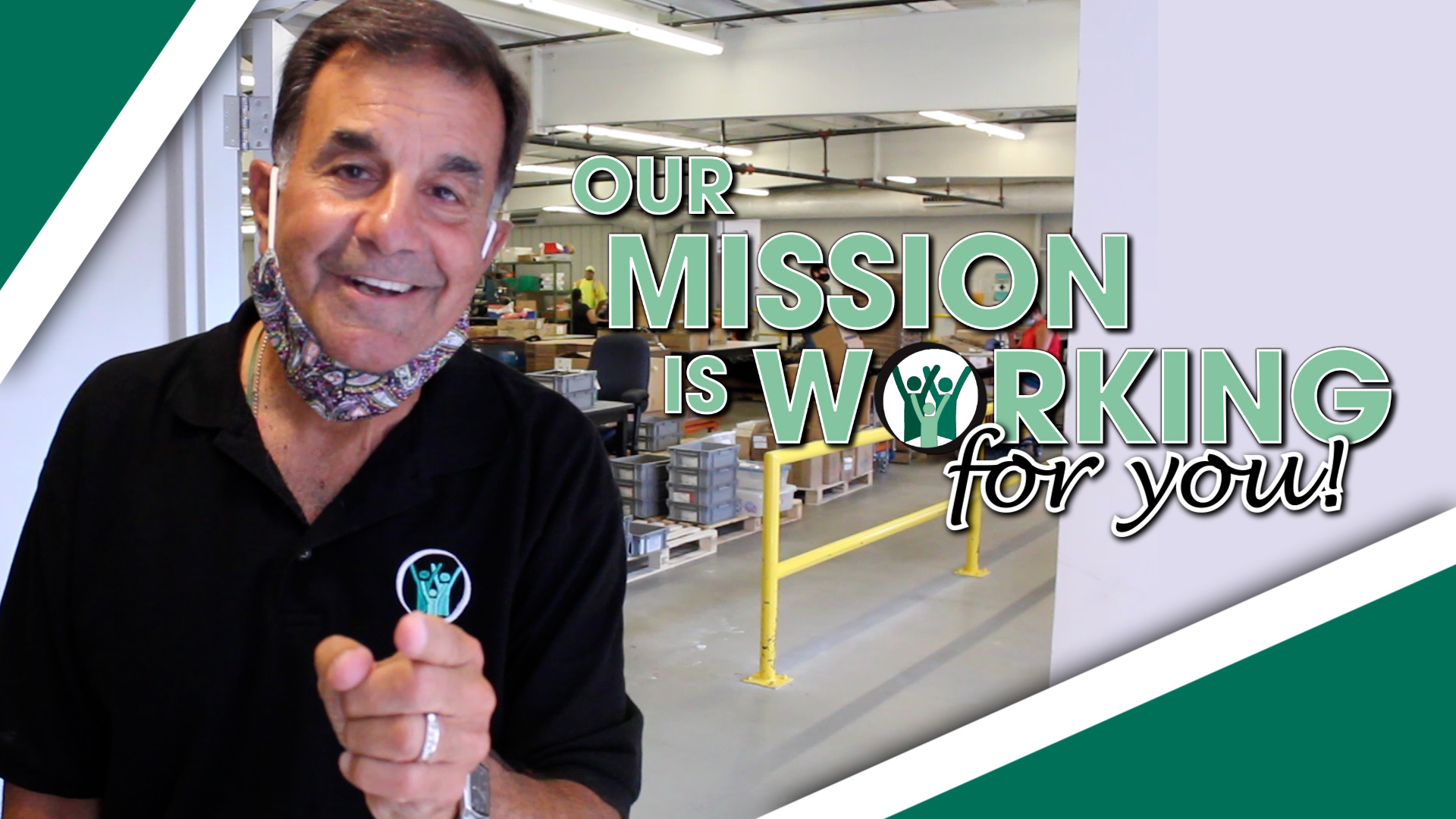 Our Mission is Working FOR YOU