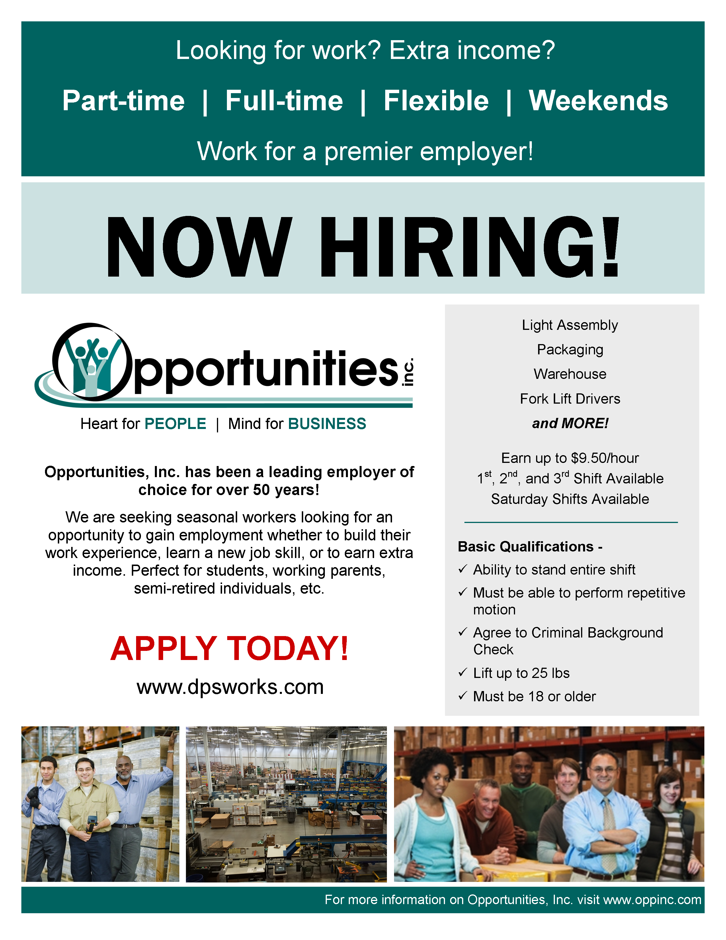 opportunities inc wi manufacturing services training and co manufacturing