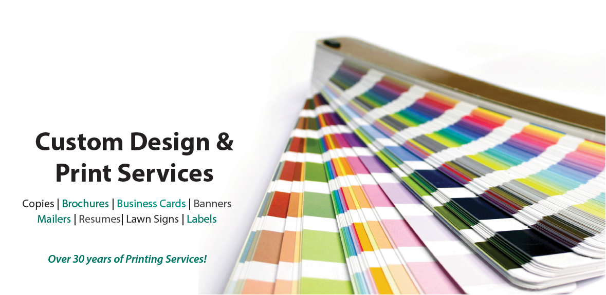 Custom Design and Print Services